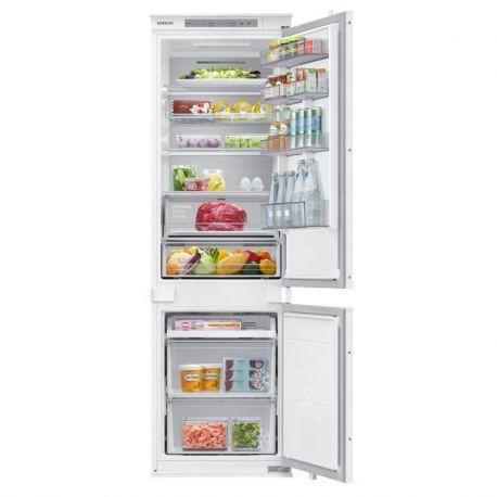 Chladnička s mrazničkou Samsung BRB26705EWW bílé