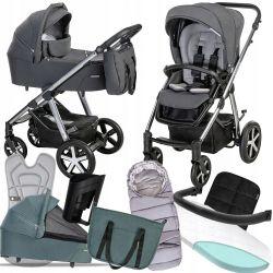 Kočárek Baby Design Husky 2021+fusak